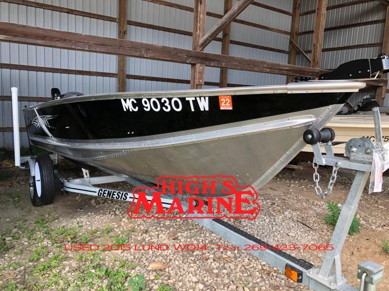 2015 Lund WD14 Fishing Boat