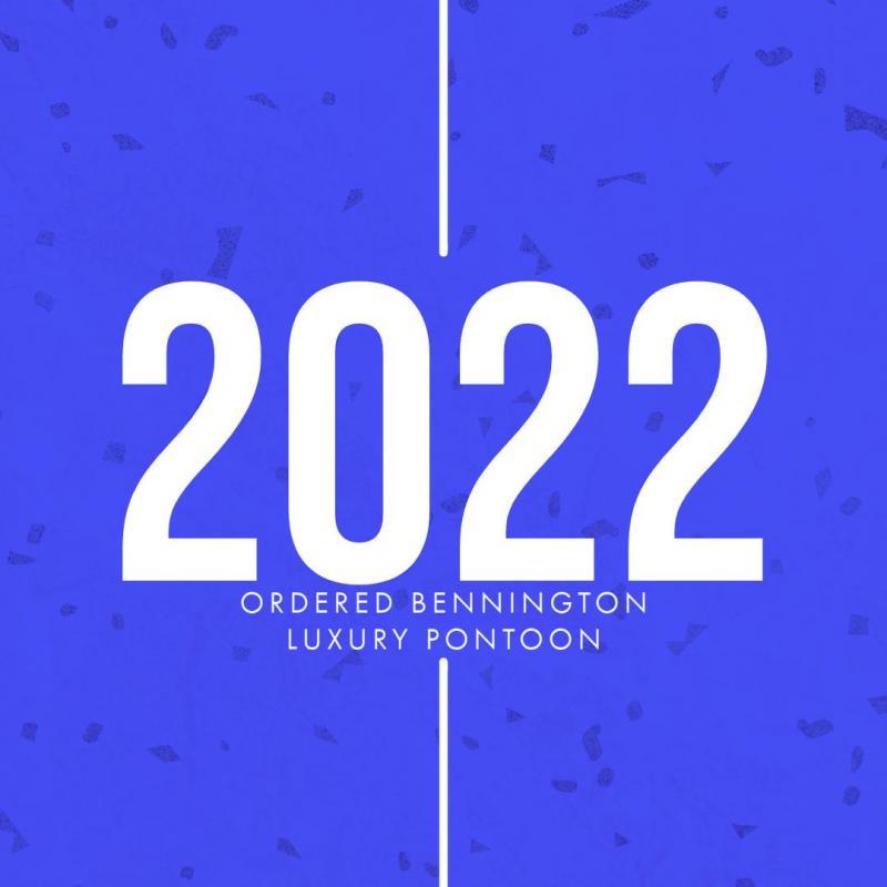 2022 Bennington 198SL Pontoon Boat ROSSA RED/WHITE