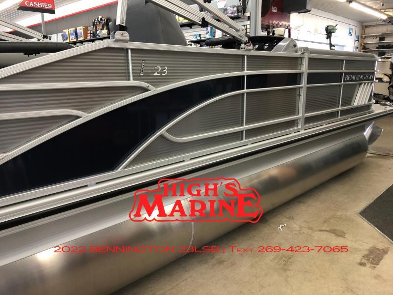 IN STOCK 2022 Bennington 23LSB Pontoon Boat