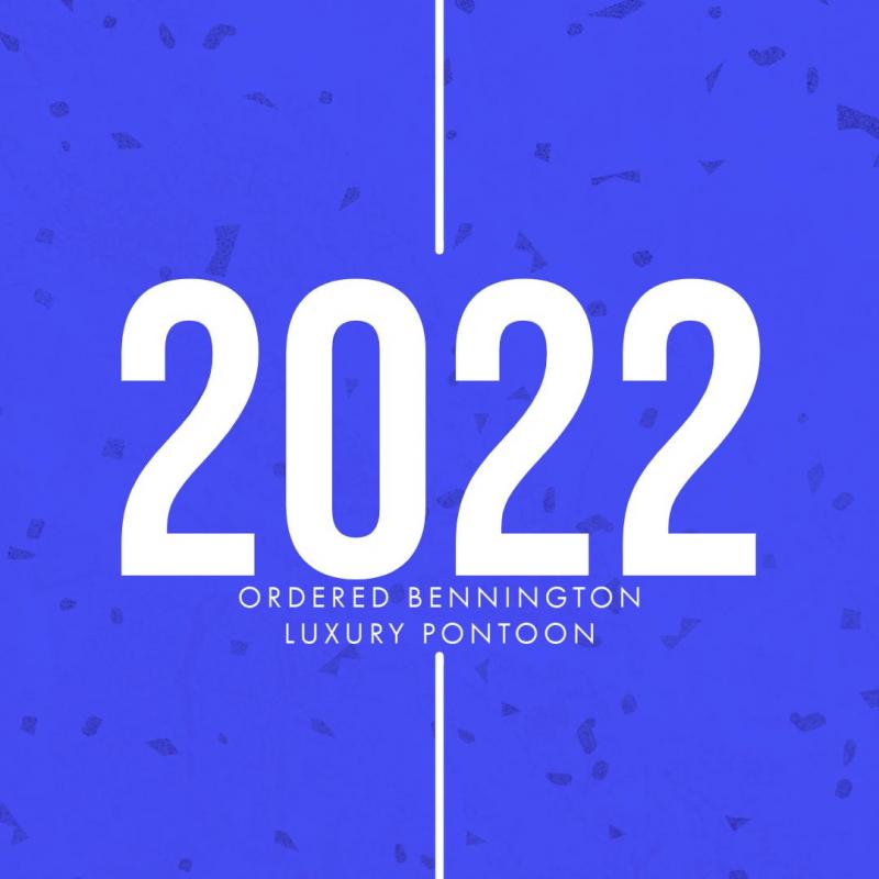 2022 Bennington 25L BOWRIDER ROSSA RED BLACKOUT