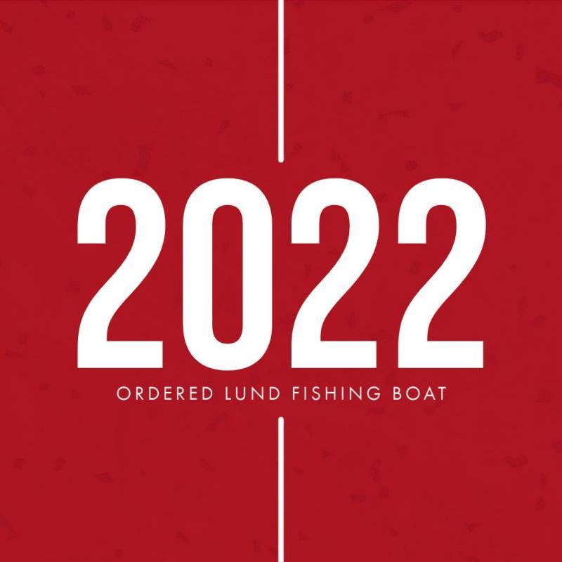 2022 Lund 1650 ANGLER TILLER RED