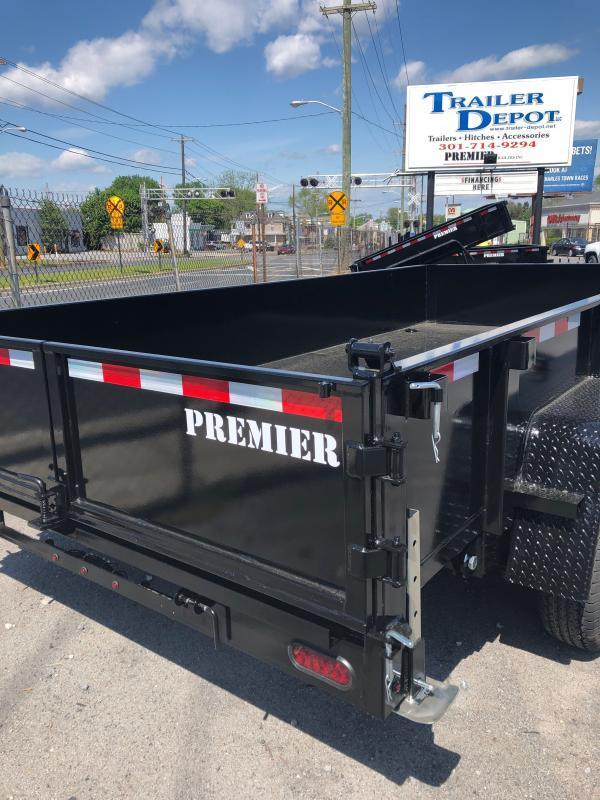 2022 Premier Trailers Inc. LE HDT 8 X 14K LP DUMP Dump Trailer