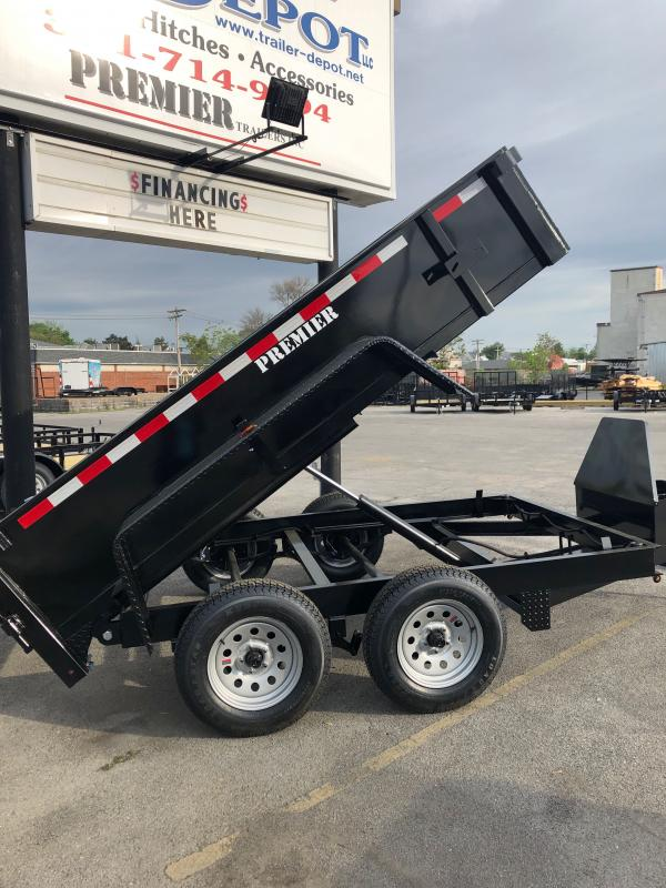 2021 Premier Trailers Inc. LE HDT 610-7K LP Dump Trailer