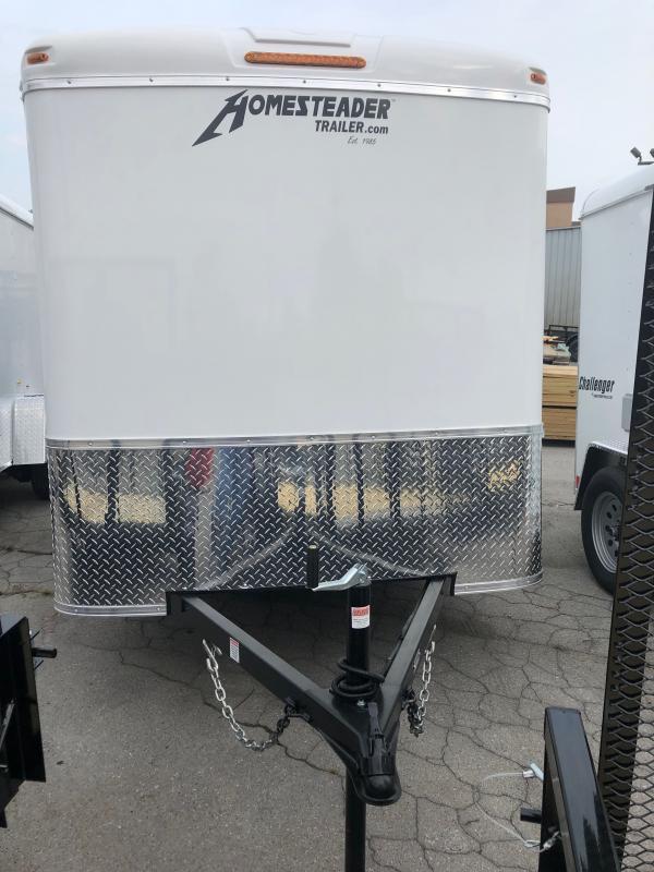 2021 Homesteader Inc. 6X10 CHALLENGER Enclosed Cargo Trailer