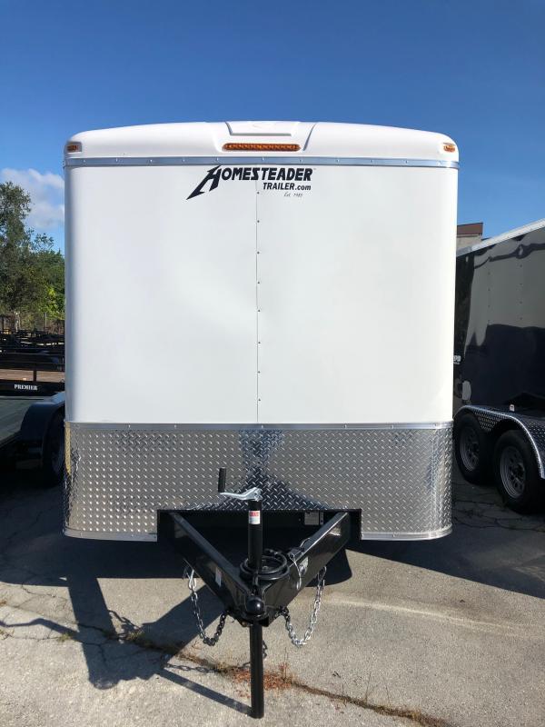 2021 Homesteader Inc. 7 x 16 CT Enclosed Cargo Trailer