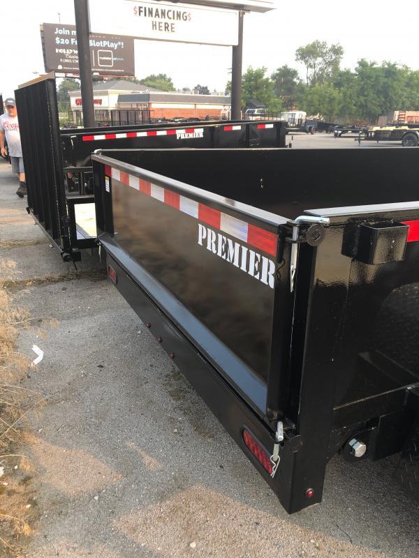 2022 Premier Trailers Inc. LE HDT 6 X 10-7K LP Dump Trailer