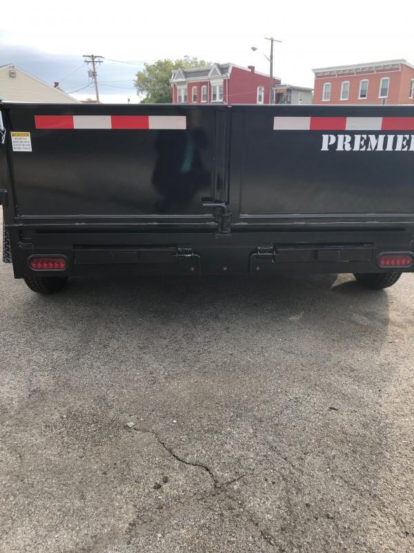2021 Premier Trailers Inc. LE HDT 610-7K LP Dump Trailer