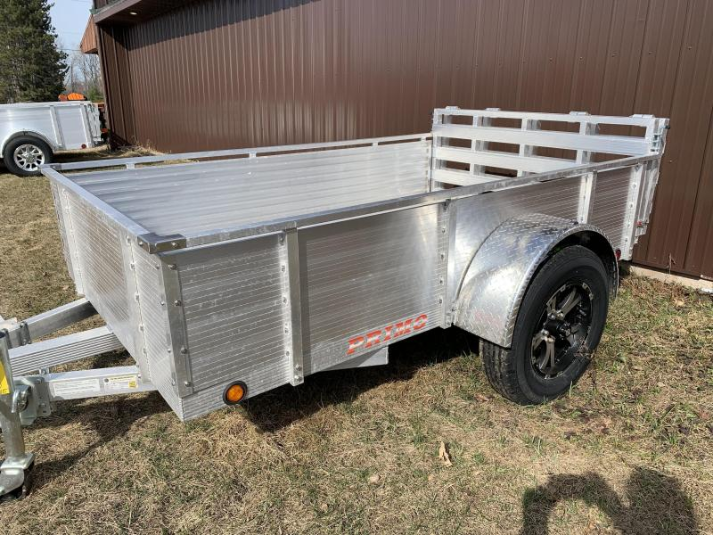 """2021 Primo 6x10 16"""" Solid High Side Utility Trailer"""