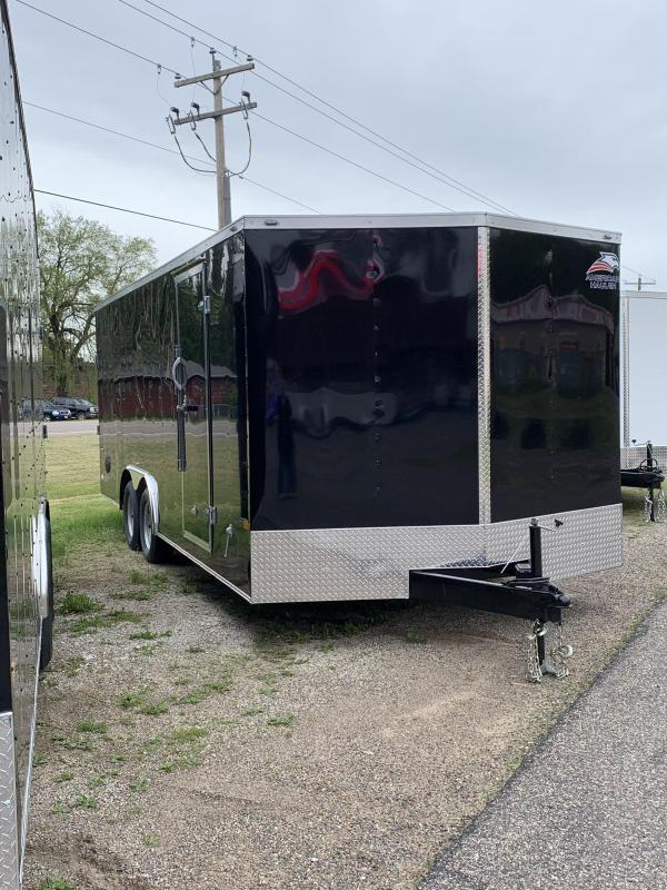 2021 American Hauler 8.5 x 24' Night Hawk Enclosed Cargo Trailer