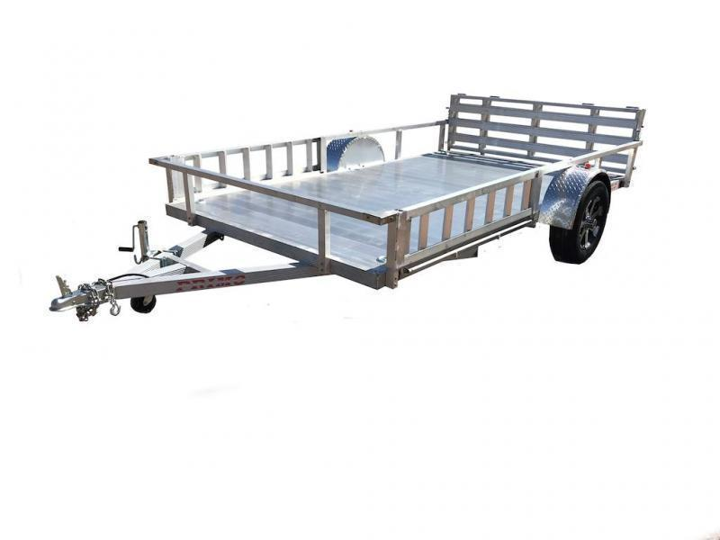 82X14 Utility Trailer with ATV Ramps