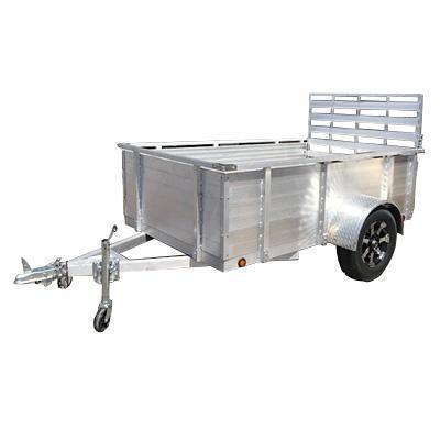 "2021 Primo 5x10 16"" Solid High Side Utility Trailer"