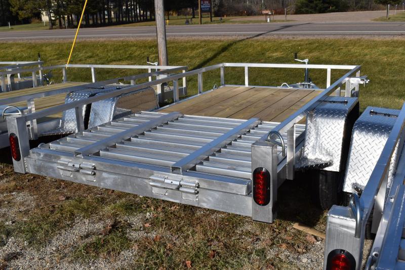82X10 SA Simplicity Aluminum Trailer