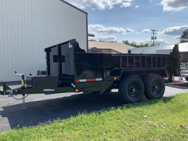 2022 Quality Steel and Aluminum 83 X 12' Low Profile 12kDump Trailer