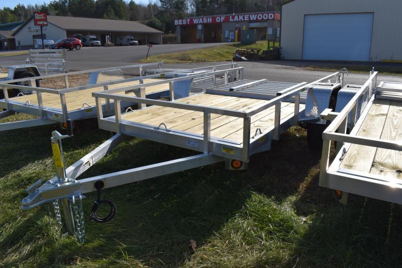 """2022 Quality Steel and Aluminum 74"""" x 10 Simplicity Utility Trailer"""
