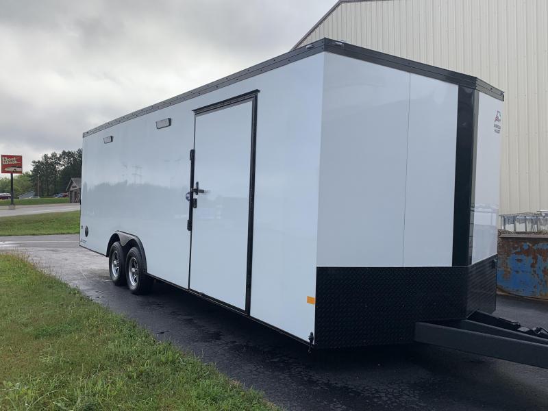 2022 American Hauler 8.5 x 24' Mach 10k Enclosed Cargo Trailer