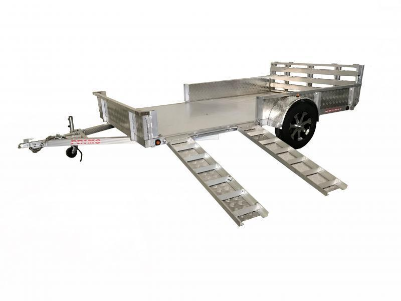 82X14 ATP Utility Trailer with ATV Ramps