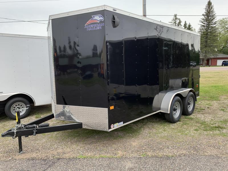 2021 American Hauler 7 x 16' Arrow Enclosed Cargo Trailer