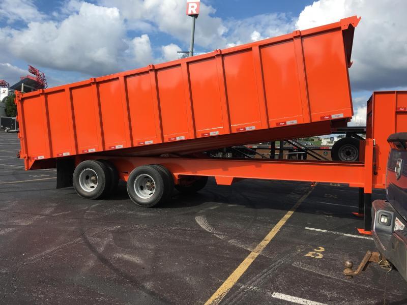 2021 Delta Manufacturing 24k Gooseneck Dump Trailer Dump Trailer