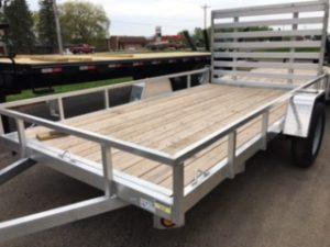 """2022 Quality Steel and Aluminum 82"""" X 14' SA Simplicity Utility Trailer"""