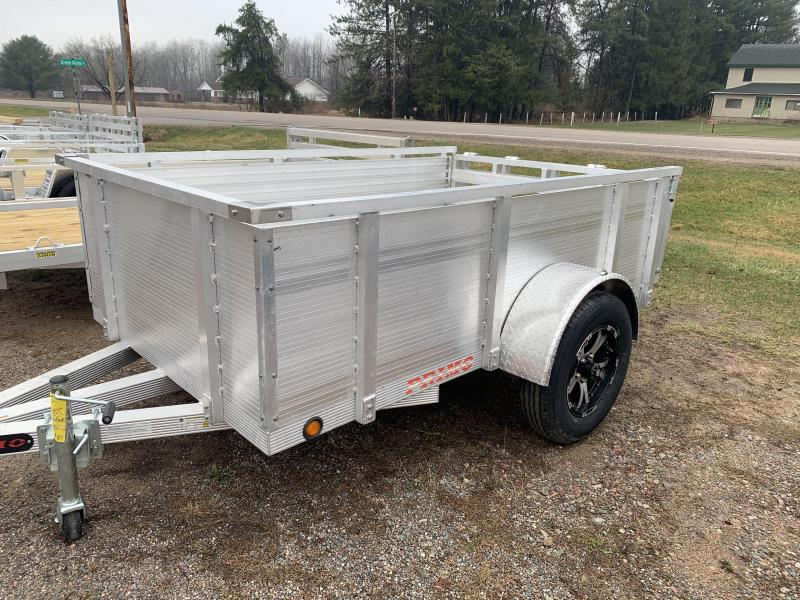 """2021 Primo 5x10 16"""" Solid High Side Utility Trailer"""