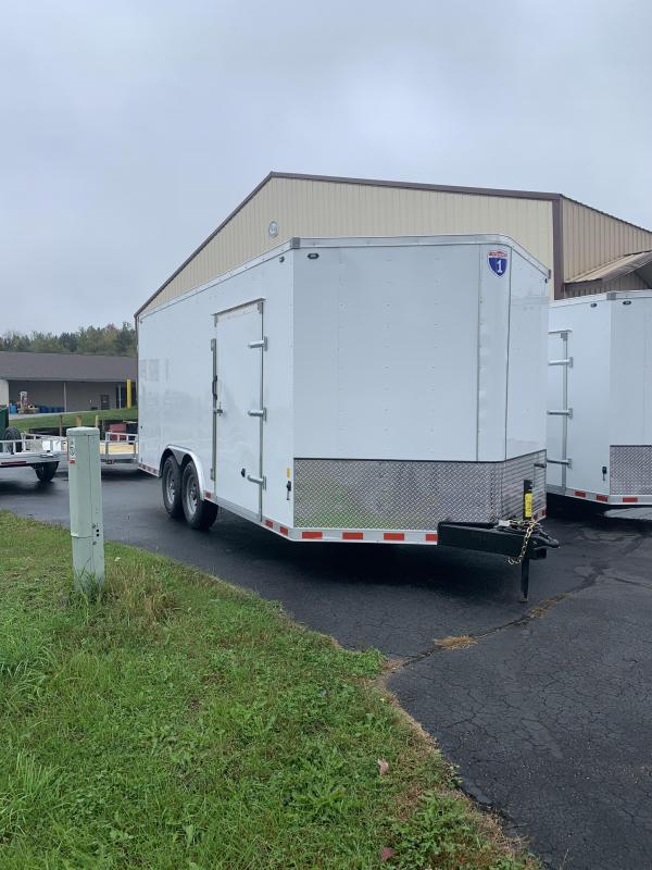 2022 Interstate 1 Trailers 8' x 18' 14k Enclosed Cargo Trailer