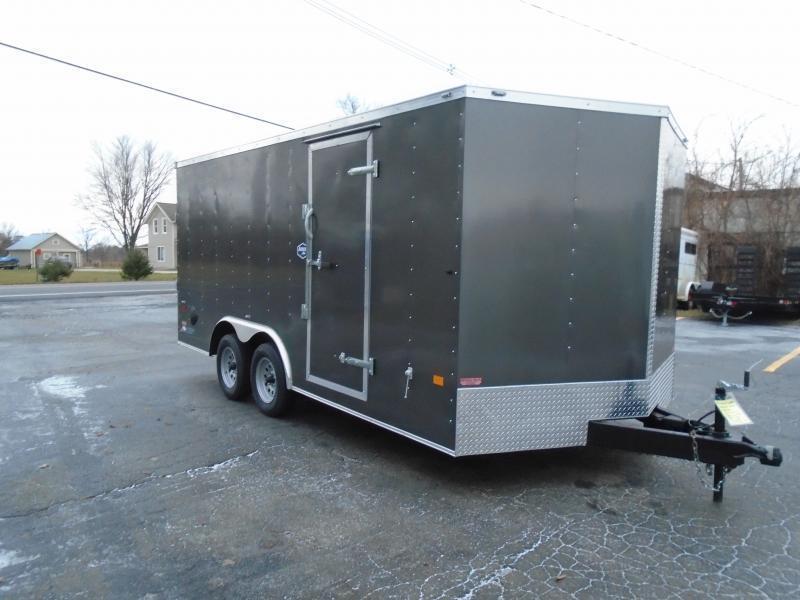 2021 American Hauler 7 x 18 Night Hawk Enclosed Cargo Trailer