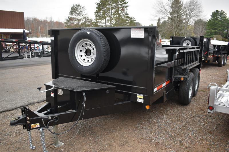 2022 Quality Steel and Aluminum 83 X 12' Low Profile Dump Trailer