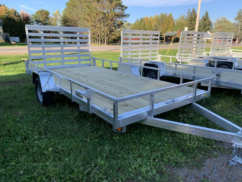 """2022 Quality Steel and Aluminum 82"""" x 10 Simplicity Utility Trailer"""