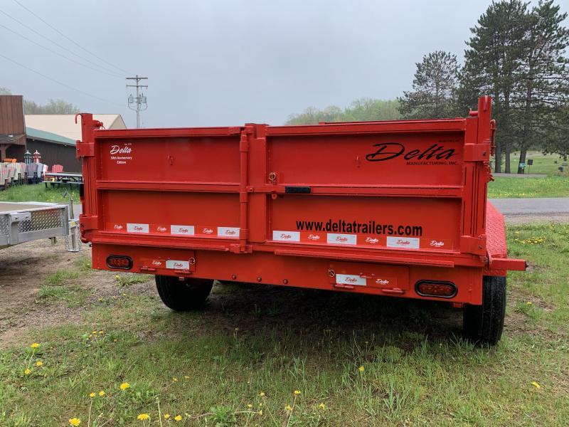 2021 Delta 27NBD Gooseneck Dump
