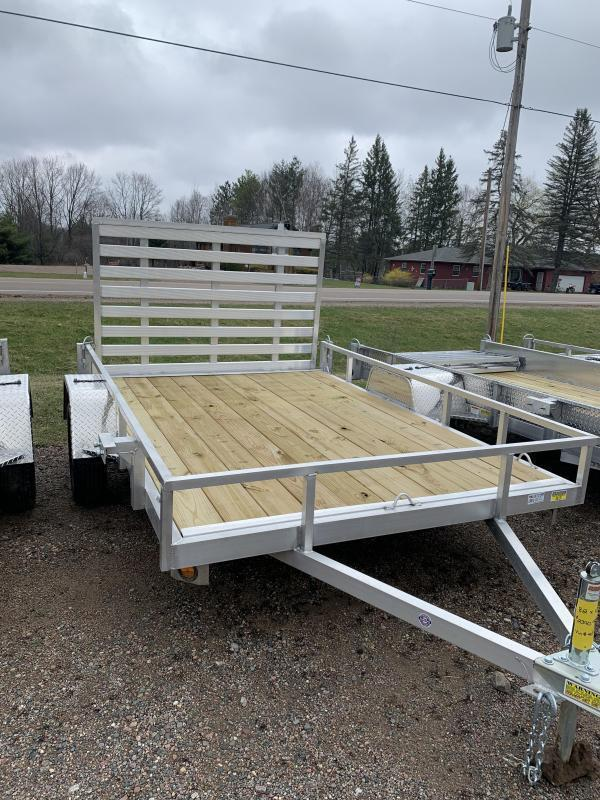 """2022 Quality Steel and Aluminum 82"""" X 12' SA Simplicity Utility Trailer"""