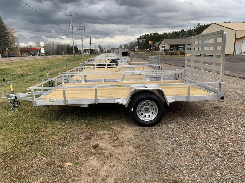 """2022 Quality Steel and Aluminum 74"""" x 12' Simplicity Utility Trailer"""