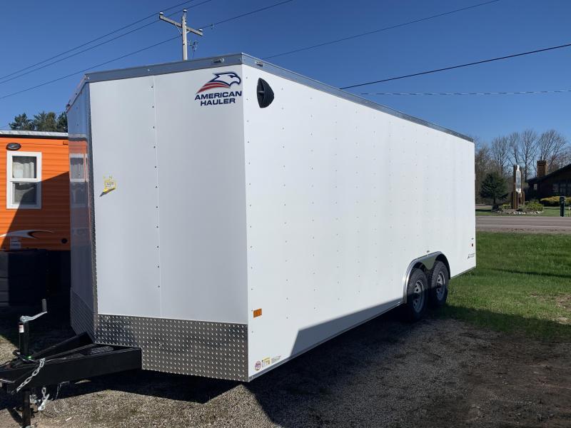 2021 American Hauler 7 x 16 Night Hawk Enclosed Cargo Trailer
