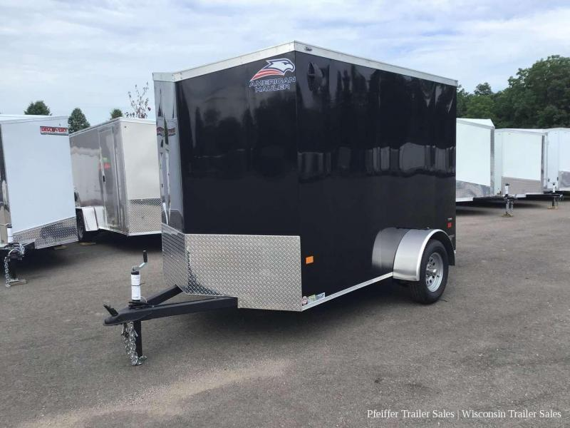 2021 American Hauler 6 X 10 Night Hawk Enclosed Cargo Trailer