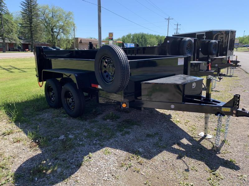 2022 Quality Steel and Aluminum 6 X 10' 7K Low Profile Dump Trailer Dump Trailer