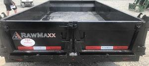 2022 RawMaxx DT7712052 10K, 12' QUALITY Dump Trailer