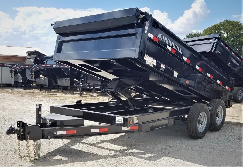 2021 Iron Bull DT8314072 14K, 14' BP DUMP TRAILER W/ TARP Dump Trailer