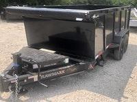 2022 RawMaxx DT8314072 14K, 14' 4' SIDES ROOFING Dump Trailer