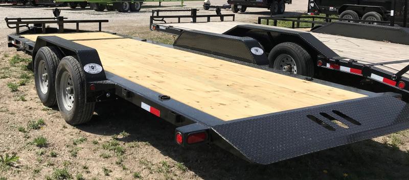 2021 Load Trail TD8320072 14K, 20' HEAVY DUTY EQUIPMENT Equipment Trailer
