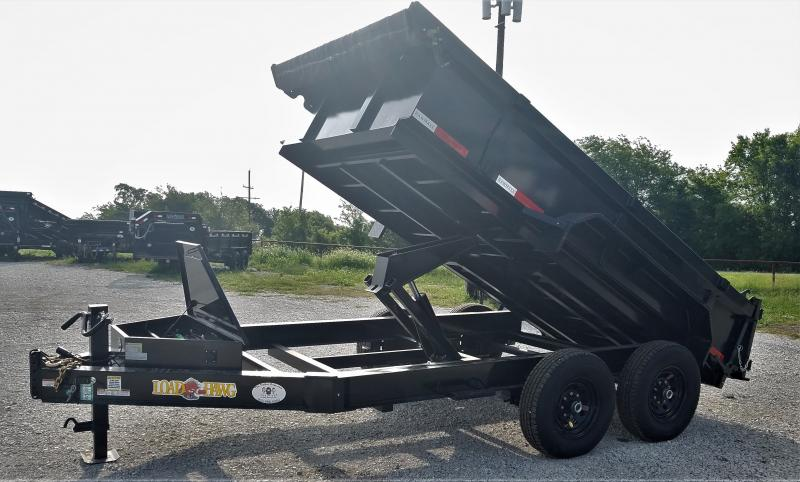 2022 RawMaxx DT7712052 10K, 12' COMMERCIAL-GRADE Dump Trailer