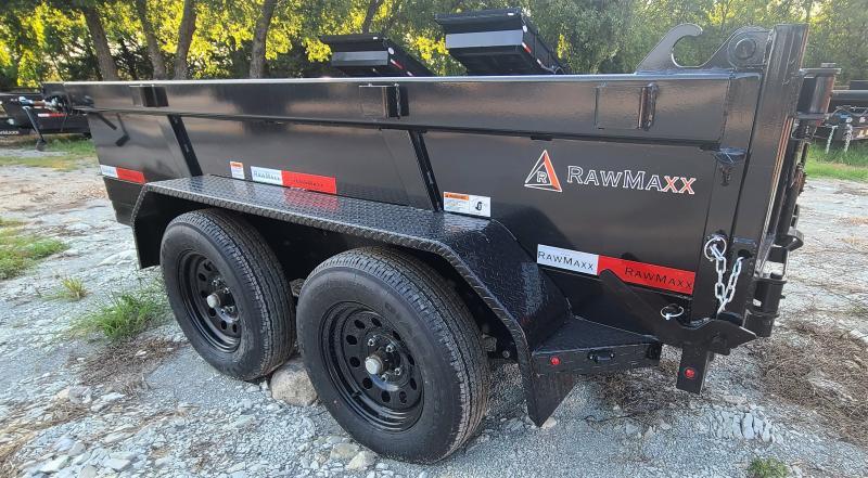 2022 RawMaxx DT6010032 7K, 10' BUMPER PULL Dump Trailer