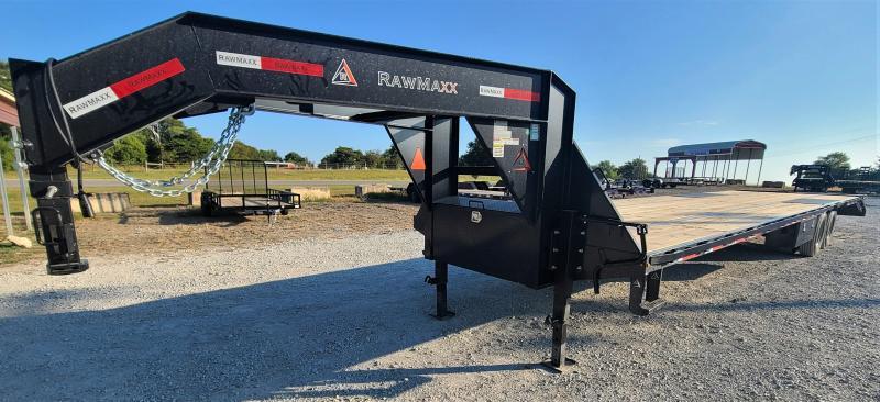 2021 RawMaxx 12K EOH DISC, 40' HOTSHOT Flatbed Trailer