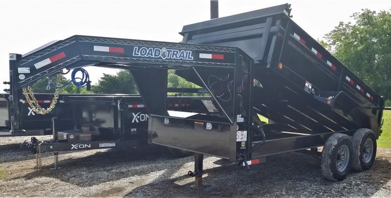 2022 Load Trail GD8312072 14K, 12' ROOFING Dump Trailer