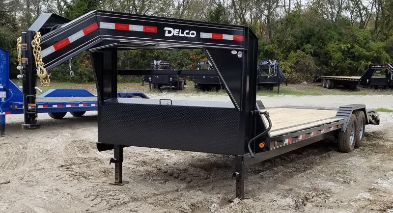 2021 Delco Trailers 24', 14K CAR HAULER W/ HD RAMPS