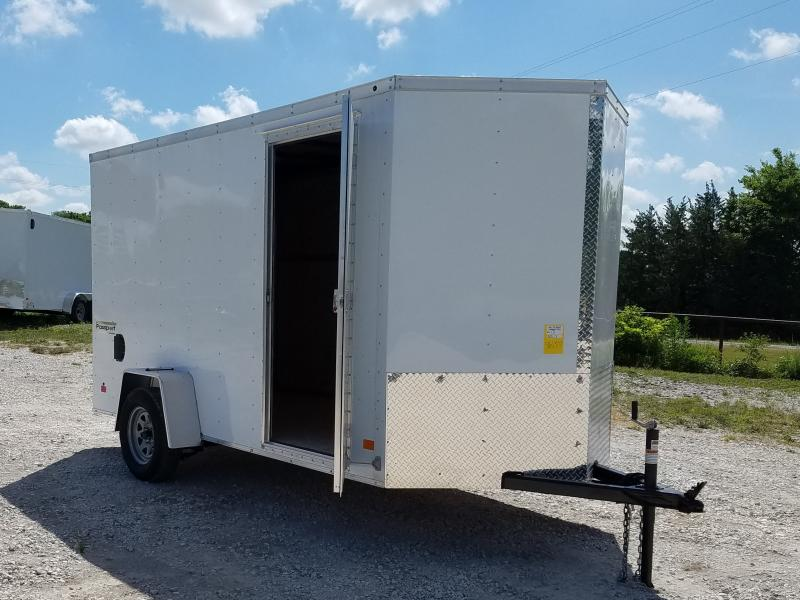 2021 Haulmark 6' X 12' PASSPORT DELUXE W/ RAMP DOOR