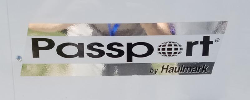 2021 Haulmark 6' X 12' PASSPORT DELUXE W/ RAMP DOOR