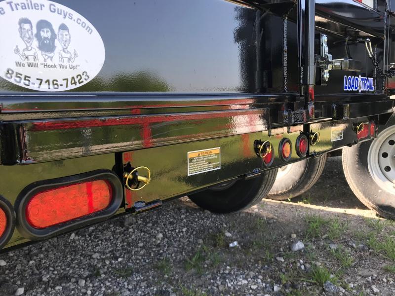 2021 Load Trail 12', 10K W/ TARP & SCISSOR LIFT