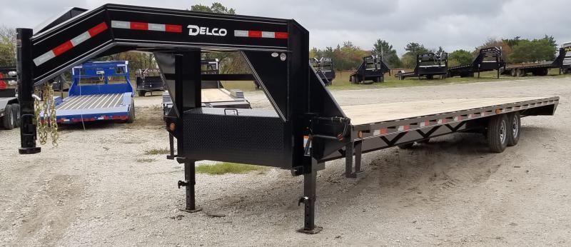 2021 Delco Trailers 36', 14K FLATBED NON CDL HOTSHOT