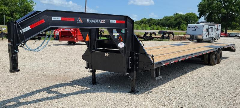 2022 RawMaxx GH0240122 12K EOH, 40' HOTSHOT TRAILER Flatbed Trailer
