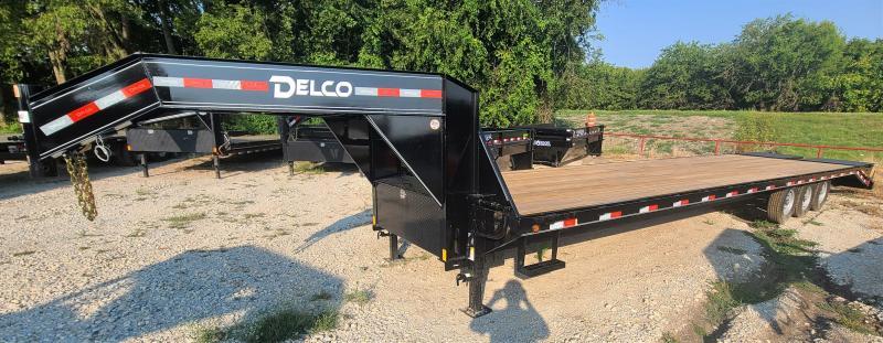 2021 Delco Trailers GH0236073 21K, 36' EQUIPMENT Flatbed Trailer