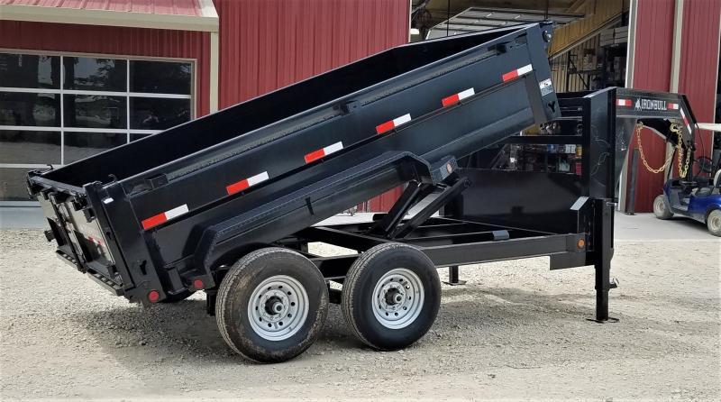 2021 Iron Bull GD8312072 14K, 12' DUMP TRAILER W/ SCISSOR LIFT Dump Trailer